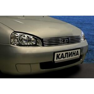"""Декоративный элемент решетки радиатора d10 (1 элемент из 5 трубочек) """"Lada Kalina"""" хром, LADK.92.2136"""