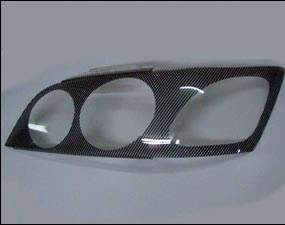 Защита передних фар Toyota Vista 1998 – 2003 (карбоновая)