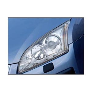Защита передних фар Ford Focus 2004 – 2008 (прозрачная)
