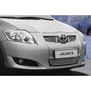 """Декоративный элемент воздухозаборника d10 (7 трубочек) """"Toyota Auris"""" хром, TAUR.97.2225"""