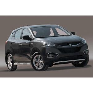 """Защита переднего бампера d76 короткая """"Hyundai IX 35"""" 2010-, HYIX.48.1060"""
