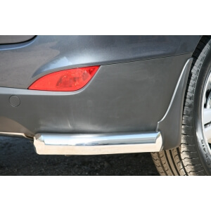 Защита заднего бампера Hyundai ix35 (уголки)
