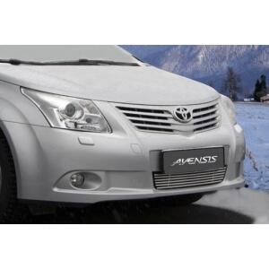 """Декоративный элемент воздухозаборника d10 (6 трубочек) """"Toyota Avensis"""" 2009 хром, TAVE.97.2222"""