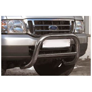 "Решетка передняя мини d 76 низкая (""Mazda B-series"", ""FORD Ranger""), MAZB.56.0161"