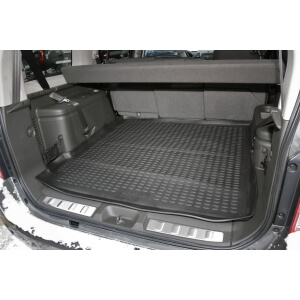 Коврик в багажник Nissan Pathfinder 2004 – 2014 (резиновый)