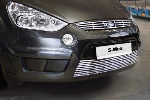 Декоративный элемент решетки радиатора Ford S-Max