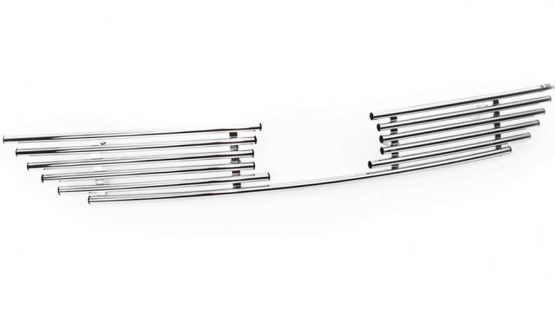 Декоративный элемент решетки радиатора Ford Focus 2 рестайлинг