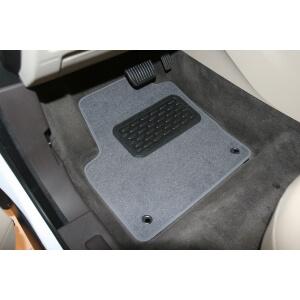 Коврики в салон LAND ROVER Range Rover Evoque 3D, 5D АКПП 2011->, кросс., 4 шт. (текстиль)