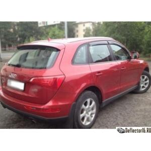 Дефлекторы Audi Q5 5d (8R) 2008-2012; 2012
