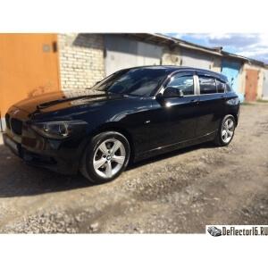 Дефлекторы BMW 1 (F20) 5d 2011