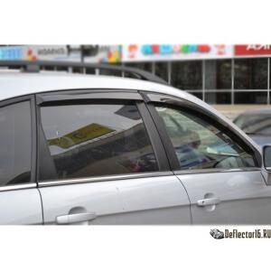 Дефлекторы Chevrolet Captiva 2006-2011, 2011