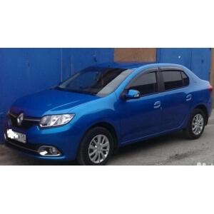 Дефлекторы Renault Logan II Sd 2014
