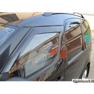 Дефлекторы Skoda Roomster 2006