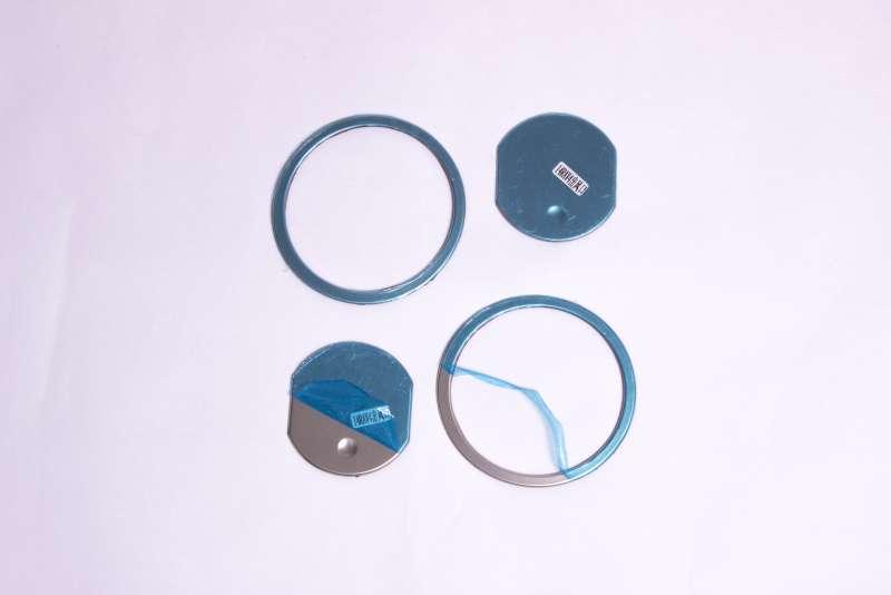 Хром окантовки воздуховодов Toyota Rav4 (2 тип), фото 3