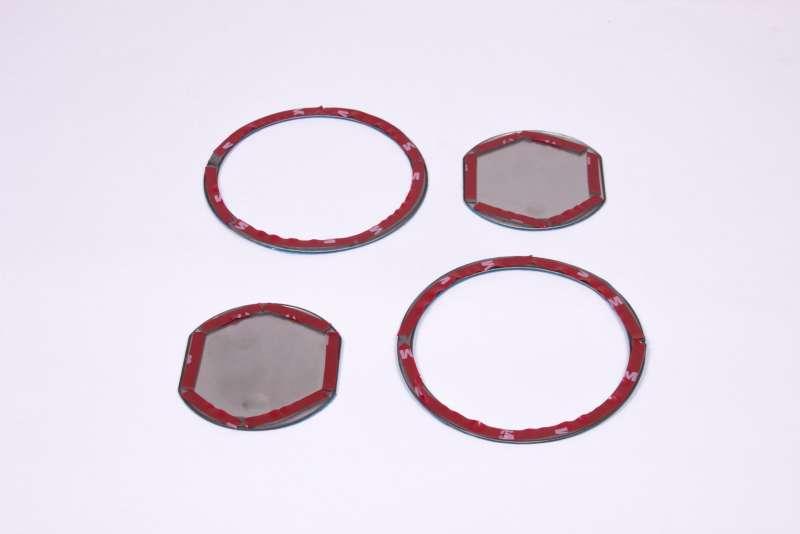 Хром окантовки воздуховодов Toyota Rav4 (2 тип), фото 4