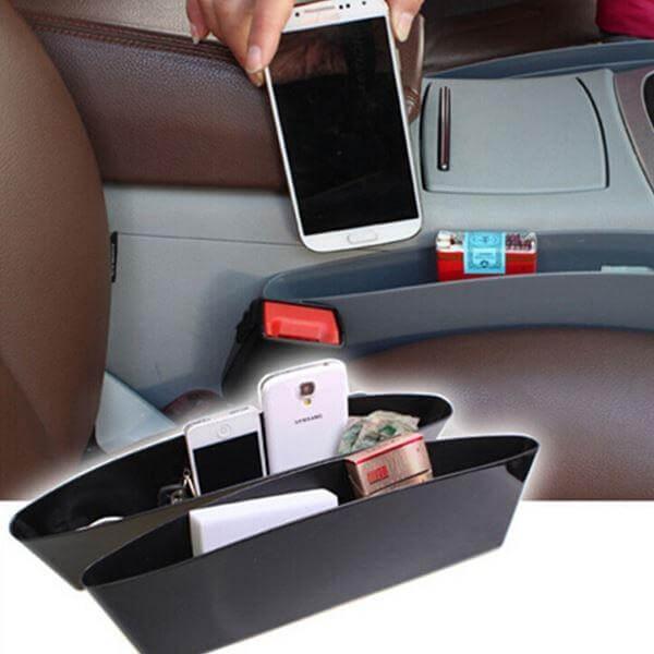 Автомобильный карман-органайзер между сиденьями, фото 2