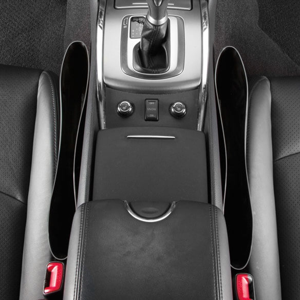 Автомобильный карман-органайзер между сиденьями, фото 4