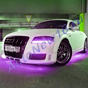 Фиолетовая светодиодная лента 5м.