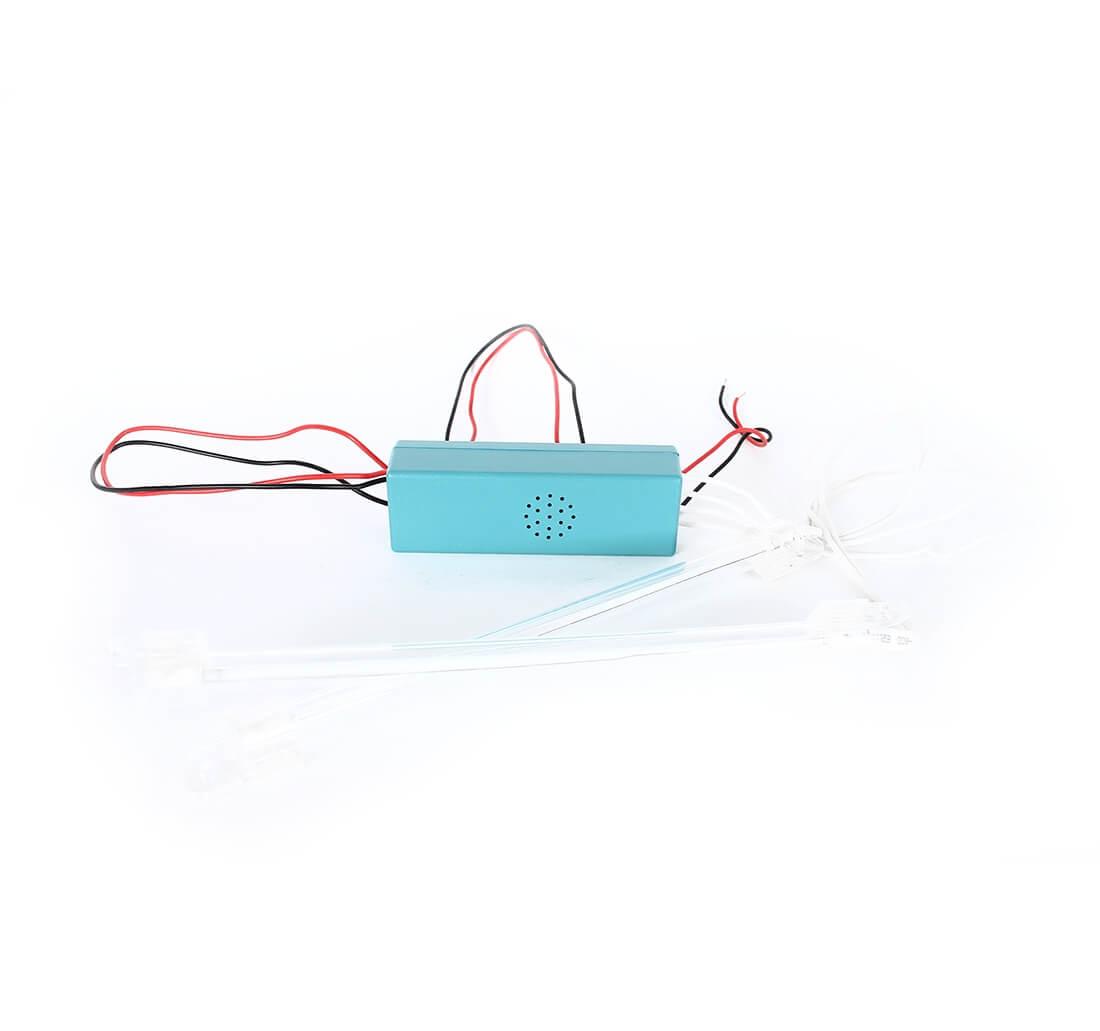 Подсветка CCFL (белая) для салона, багажника, 2х15см., фото 2