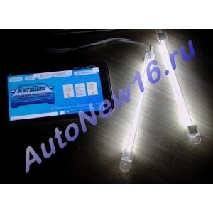 Подсветка CCFL (белая) для салона, багажника, 2х15см.