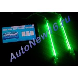 Подсветка CCFL (зеленая) для салона, багажника, 2х15см.