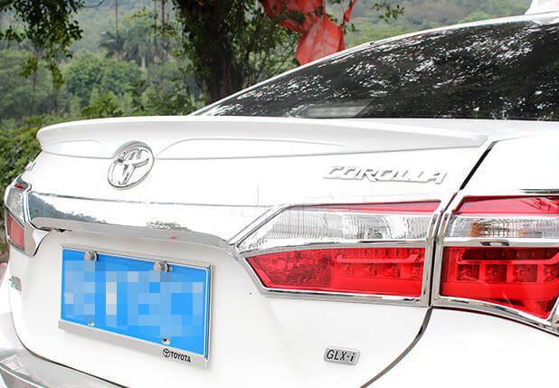 Лип-спойлер на Toyota Corolla 160 (2013-2015)