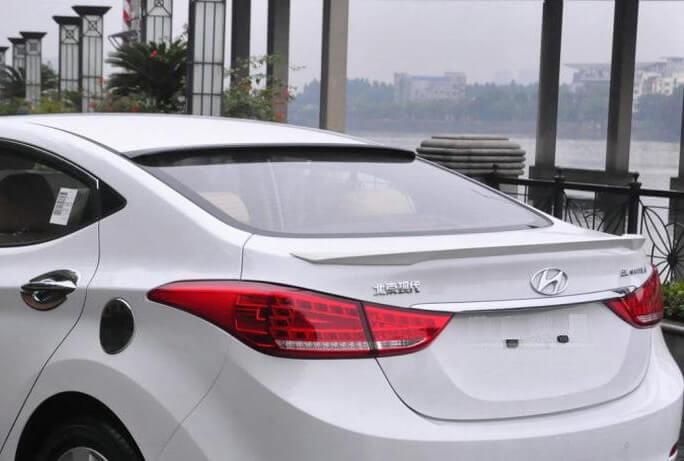 Лип-спойлер на Hyundai Sonata (2 тип)