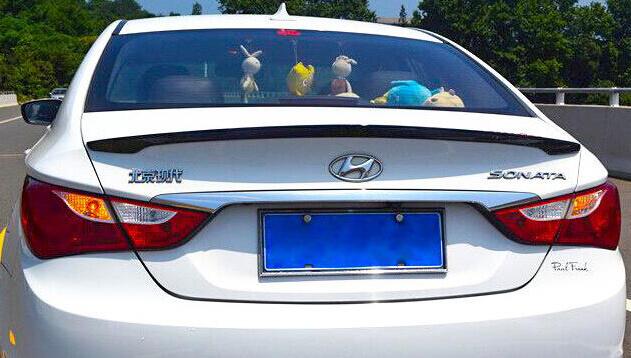 Лип-спойлер на Hyundai Sonata (2 тип), фото 2