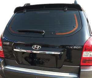 Cпойлер на Hyundai Tucson (2004-2010)