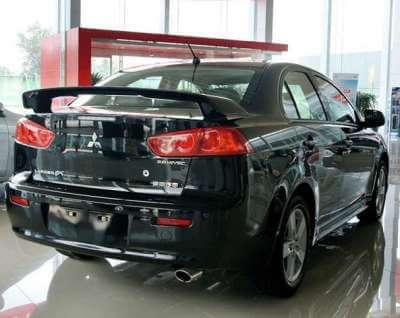 Спойлер на Mitsubishi Lancer X