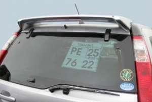 Спойлер на Honda CR-V 2001 – 2006