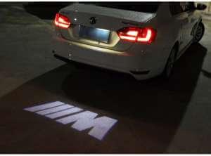 Задняя лазерная проекция с логотипом BMW M