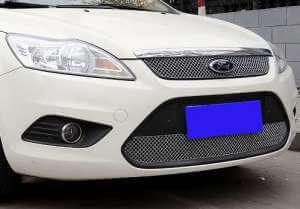 Хромированная решетка радиатора Ford Focus 2 (2008- 2011)