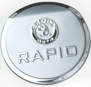 Накладка на крышку бензобака Skoda Rapid