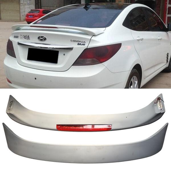 Спойлер на Hyundai Solaris