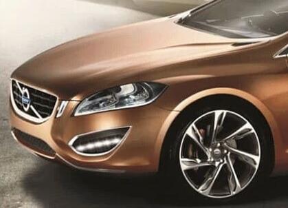 Дневные ходовые огни Volvo S60 (с повторителями поворотников)