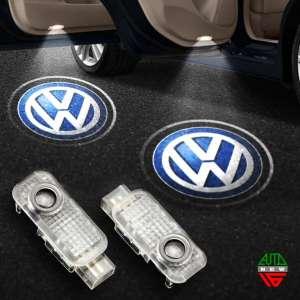 Штатная подсветка дверей Volkswagen Touareg (2004-2009)