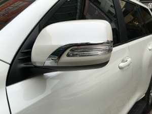 Накладки на зеркала заднего вида Toyota Land Cruiser 2016
