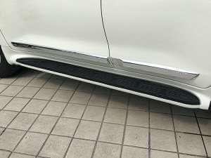 Молдинги на двери Toyota Land Cruiser 2016