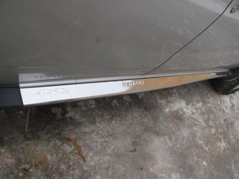 Накладка внешнего порога Renault Duster
