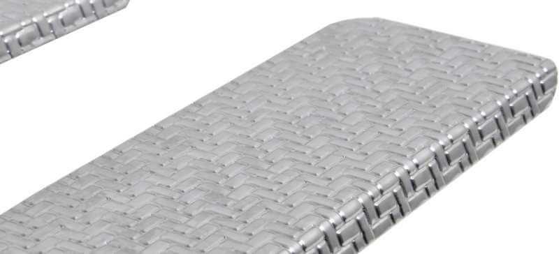 Накладки на пороги Kia Sportage Carbon, фото 4
