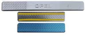 Накладки на пороги Opel Insignia Carbon