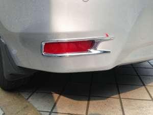 Накладки на задние ПТФ Toyota Сorolla (2012-2016)
