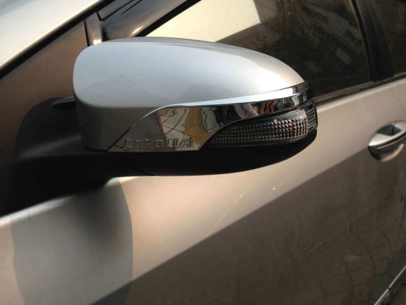 Накладки на зеркала заднего вида Toyota Corolla (2012-2016), фото 2