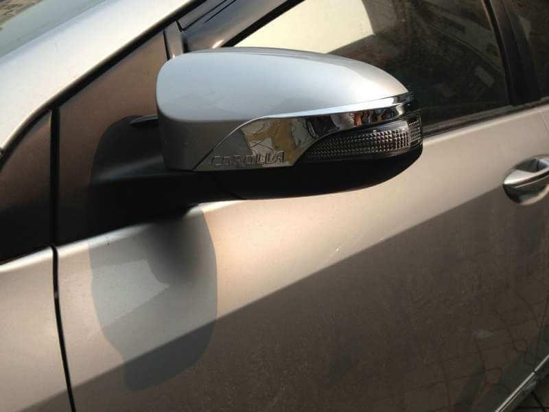Накладки на зеркала заднего вида Toyota Corolla (2012-2016), фото 3