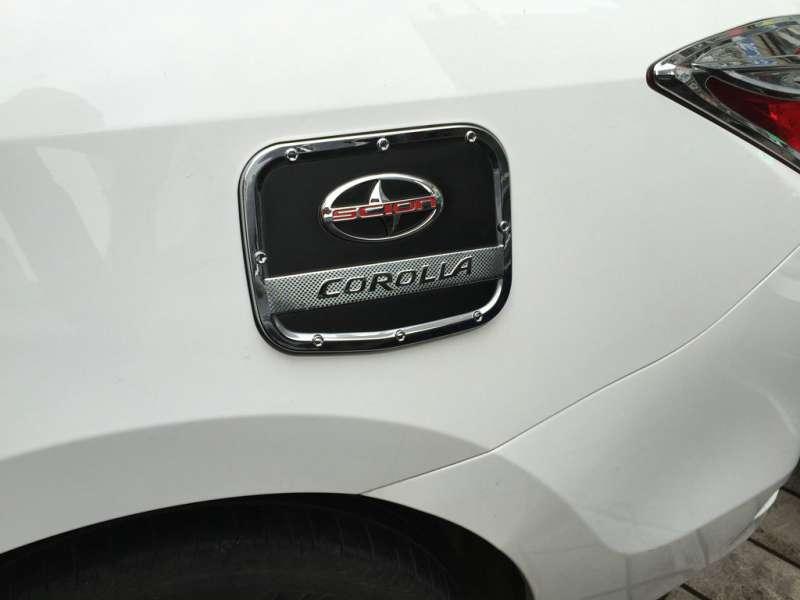 Накладка на крышку бензобака Toyota Сorolla (2012-2016), фото 3