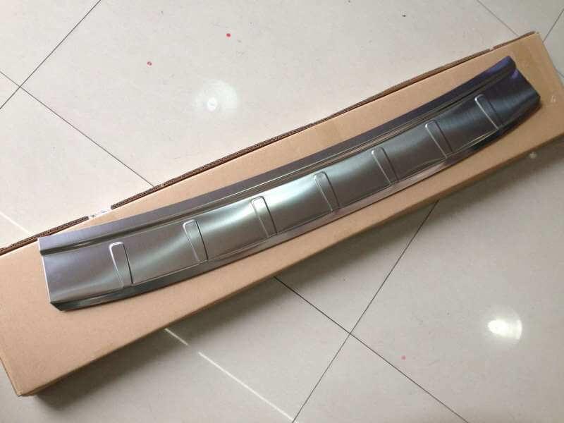 Накладка на бампер Volvo XC60 (2 вариант), фото 2