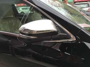 Накладки на зеркала заднего вида Toyota Highlander (2014-2016)