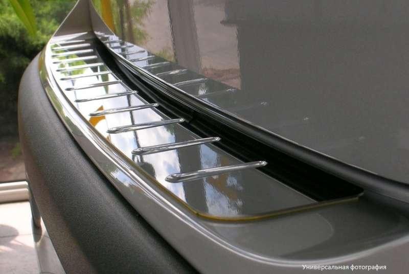 Накладка бампера Volkswagen Tiguan (без надписи)