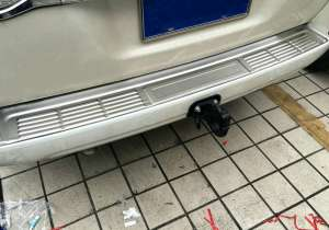 Накладка на бампер Toyota Land Cruiser 200